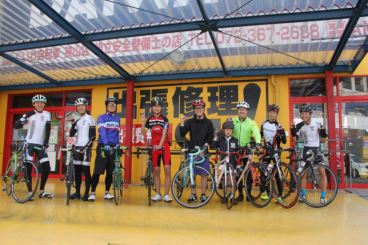 【初級】Holiday Cycling〈ダイワサイクル狭山店〉申込受付中
